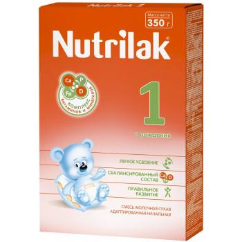 Nutrilak сухая молочная смесь #1, c рождения, 350гр (12064)