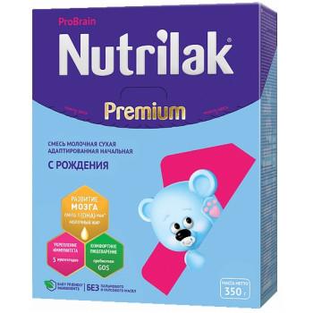 Nutrilak Premium сухая молочная смесь #1, с 0-6 месяцев, 350гр (20199)