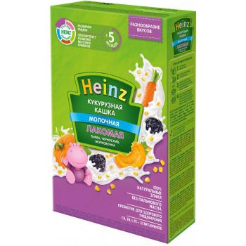 Heinz Лакомая кукурузная каша, тыква, чернослив и морковь, с 5 месяцев, 200гр (01404)