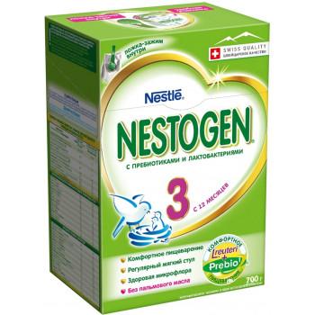 Nestogen сухая молочная смесь #3, c 12 месяцев, 700гр (40168)
