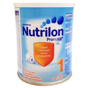 Nutrilon молочная смесь #1, с рождения, 400гр (02759)
