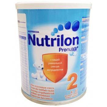 Nutrilon молочная смесь #2, с 6-12 месяцев, 400гр (02353)