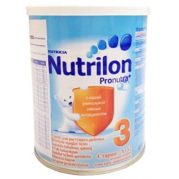 Nutrilon молочная смесь #3, c 12-18 месяцев, 400гр (02766)