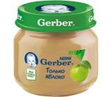 Gerber пюре, яблоко, с 4 месяцев, 80гр (78419)