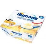 Humana йогурт (с бананом ) 4шт*100гр с 6 месяцев (01091)