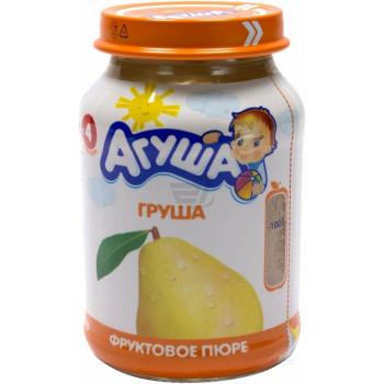 Агуша пюре фруктовое, груша, с 4 месяцев, 200гр (01711)