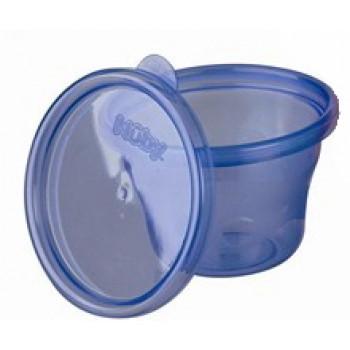 Nuby чашки-стаканы с крышкой, для заморозки, 120 мл, 1шт  (11615)