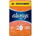 Always Ultra гигиенические прокладки, Нормал, 4 капли, 36шт (78330)
