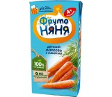 Фруто Няня детский сок, морковь, с 4 месяцев, 0,2л (00275)