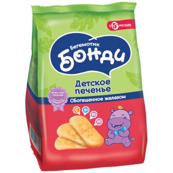 Бонди детское печенье, обогащенное железом, c 5 месяцев, 180гр (03667)