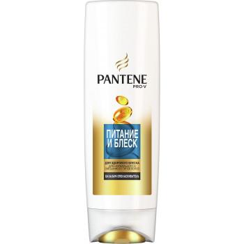 Pantene Pro-v бальзам-ополаскиватель, Питание и блеск, для нормального и смешанного типов волос, 200мл (65528)
