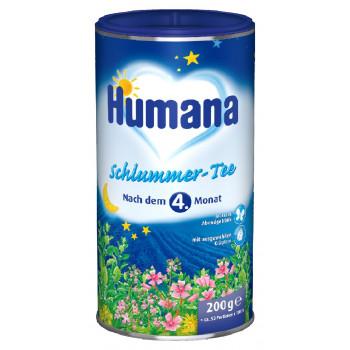 Humana детский чай, Cладкие сны, с 4 месяцев, 200гр (30428)