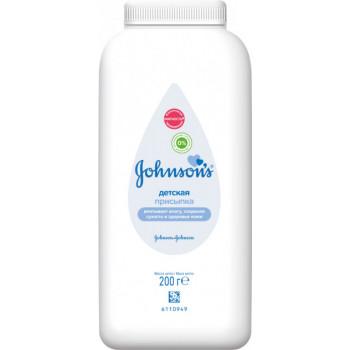 Johnsons baby детская присыпка, 200гр (27362)