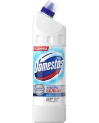 Domestos чистящее средство для унитаза, Ультра белый, 1000мл (15875)