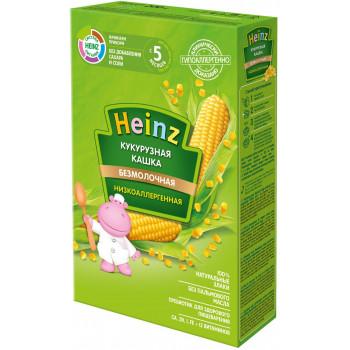 Heinz кукурузна каша низкоаллергенная, без молока, с 5 месяцев, 200гр  (01442)