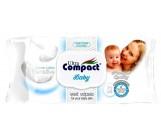 Compact baby влажные салфетки для детей, Sensitive, 72шт (32437)