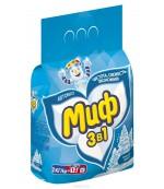 Миф универсальный стиральный порошок автомат, Морозная свежесть, 2кг (52858)