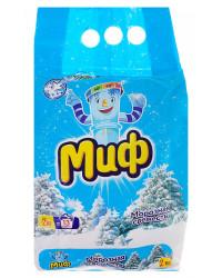 Миф стиральный порошок автомат, Морозная свежесть, для белого белья, 2кг (52858)