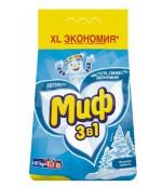 Миф универсальный стиральный порошок автомат, Морозная свежесть, 4кг (52827)
