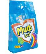 Миф универсальный стиральный порошок автомат, Свежий цвет, 2кг (54128)