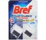 Bref duo-cubs кубики для сливного бачка, Формула 2в1, Гигиена, 2шт (97341)