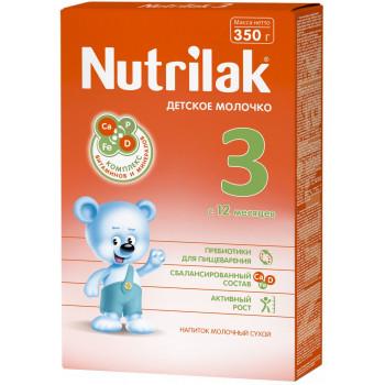 Nutrilak сухая молочная смесь #3, c 12 месяцев, 350гр (20151)
