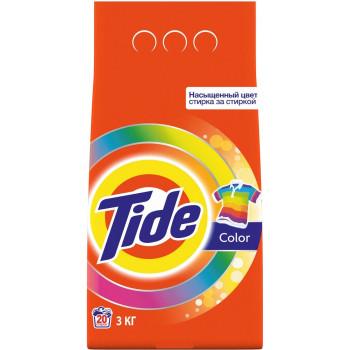 Tide Color стиральный порошок автомат, для Цветного белья, 3кг (43436)