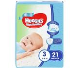 Huggies ultra comfort гига #3 подгузники 5-9 кг, для мальчиков, 21шт (43536)