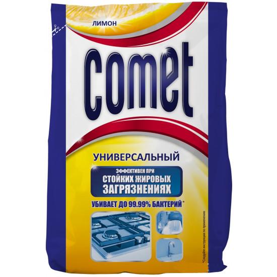 Comet чистящий порошок пакет, Лимон, 400гр (24755)