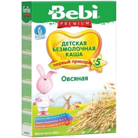Bebi каша безмолочная овсяная, с 5 месяцев, 200гр (16483)