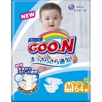 Goon #3 M подгузники, 6-11 кг, 64шт (51338)(54893)