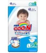 Goon #4 L подгузники, 9-14 кг, 54шт (51345)(54909)
