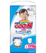 Goon #4 L трусики для девочек, 9-14 кг, 44шт (51390)(54954)