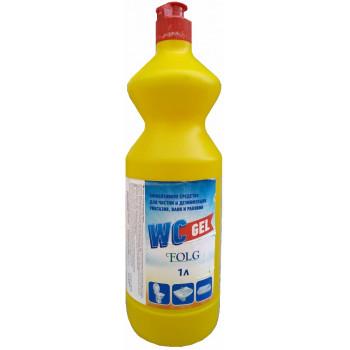 Folg WC гель дезинфицирующее средство для унитаза, 1л (60195)