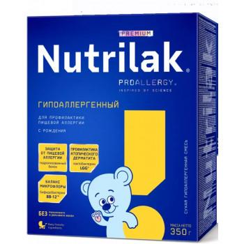 Nutrilak сухая гипоаллергенная смесь #1, с рождения, 350гр (13665)