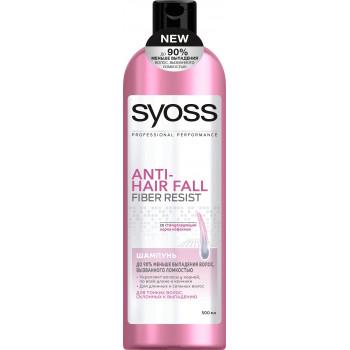 Syoss шампунь, Anti-hair fall, для тонких волос склонных к выпадению 500 мл (07797)