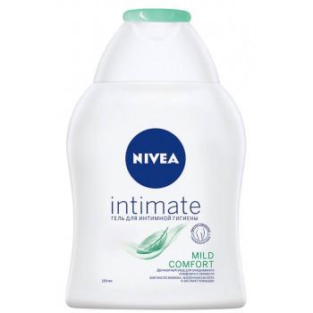 Nivea Intimate гель для интимной гигиены, Mild Comfort, с экстрактом ромашки 250 мл (61988)