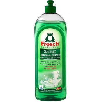 Frosch средство для мытья посуды, Зеленый Лимон, 1л (48094)