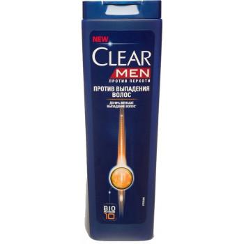 Clear Men шампунь против перхоти для мужчин, Против выпадения волос, 400мл (65898)