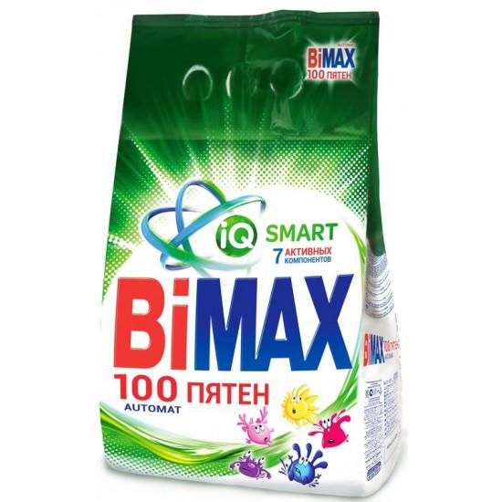 BiMax 100 Пятен стиральный порошок автомат, для белого белья, 3кг (12824)