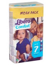 Libero comfort #7 подгузники, 16 - 26 кг, 64шт (83490)