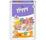 Happy mini #2 подгузники 3-6 кг, 38шт (00709)