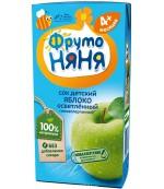 Фруто Няня сок (яблоко) с 4 месяцев 0,2 л (00183)