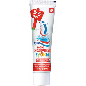 Aquafresh детская зубная паста, мои молочные зубки, 50мл (92189)