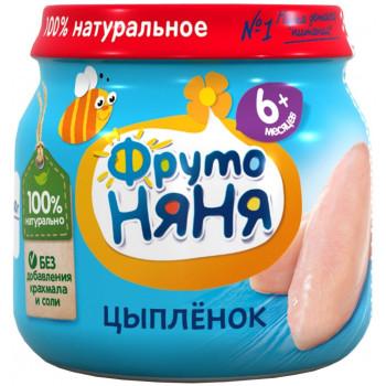 Фруто Няня пюре мясное, цыпленок, с 6 месяцев, 80гр (04488)