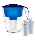 Аквафор фильтр для воды, кувшин для фильтрации воды Кантри + 2 сменных модуля (05263)