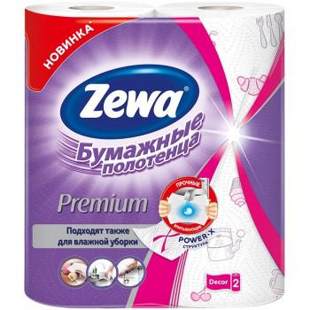 Zewa Decor бумажные полотенца, 2 рулона, 2 слоя, 57 отрывов в рулоне (62146)