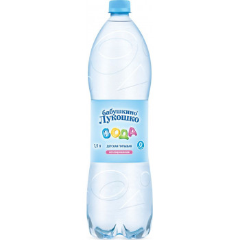 Бабушкино Лукошко вода детская, с 0 месяцев, 1,5л (00465)