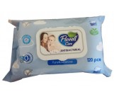 Flovell влажные салфетки, Pure & Sensitive, 120шт (90075)