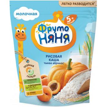 Фруто Няня рисовая каша с тыквой и абрикосом, с молоком, с 5 месяцев, 200гр (11107)